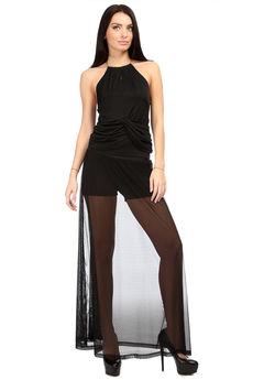 Юбка-шорты черные Mondigo со скидкой